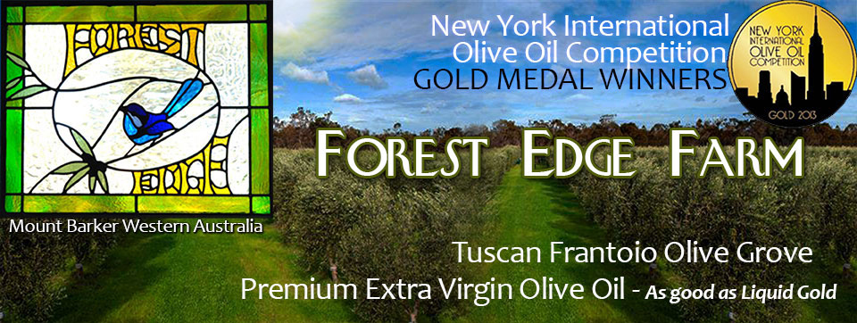 Forest Edge Farm Extra Virgin Olive Oil Grove